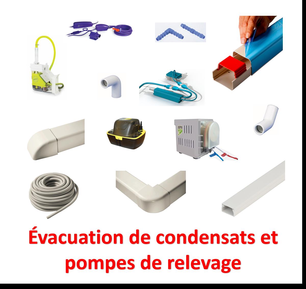 Evacuation de condensats et pompes de relevage