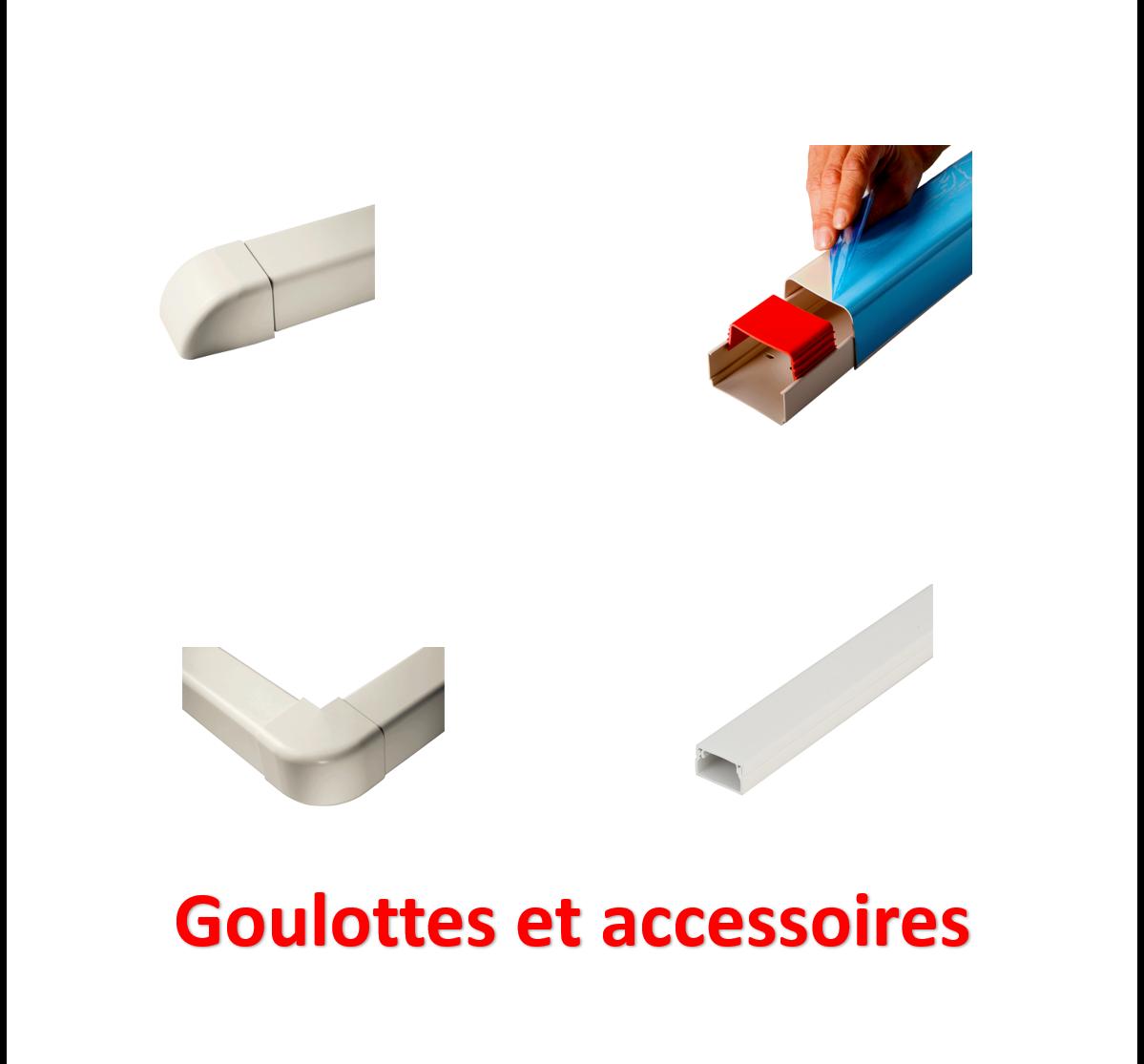 Goulottes et accessoires
