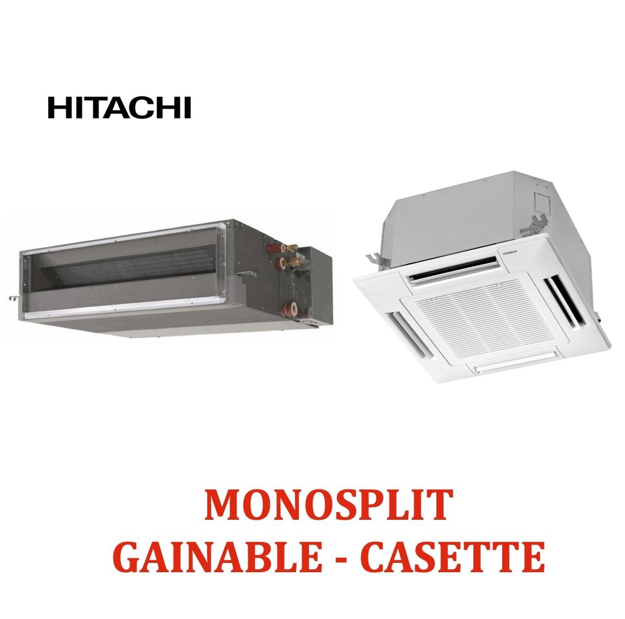 Monosplit cassette et gainable