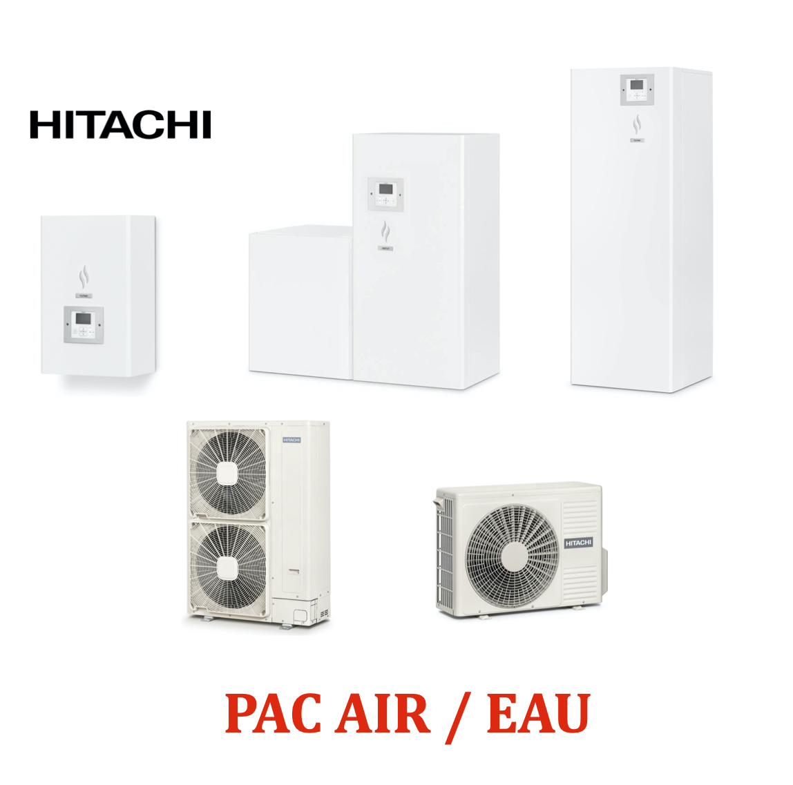 Pac Air/Eau HITACHI
