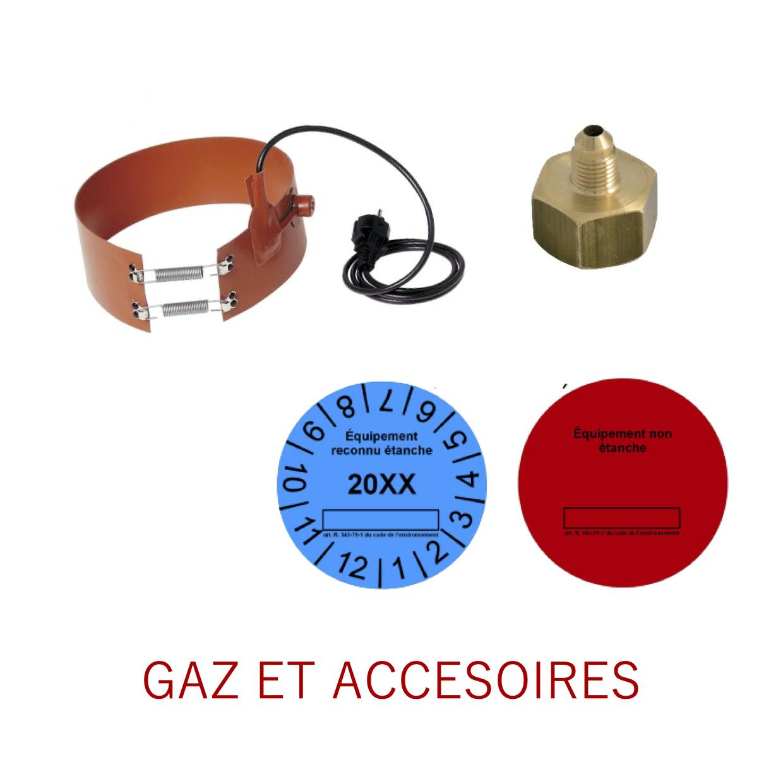 Gaz et accessoires