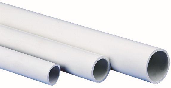 Tube Pvc Blanc Anti Uv M1 Lg2ml D20
