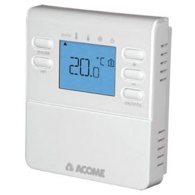 THERMOSTAT D'AMBIANCE DIGITAL RADIO ACOME